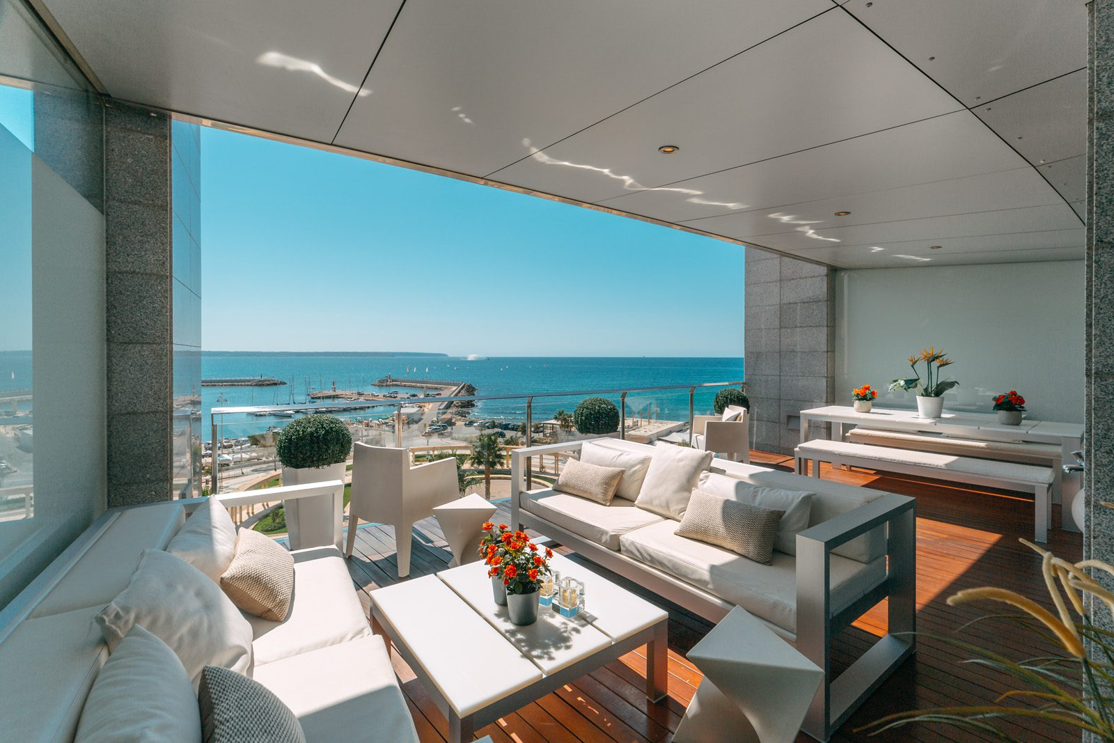 Luxury apartment Portixol with excellent views