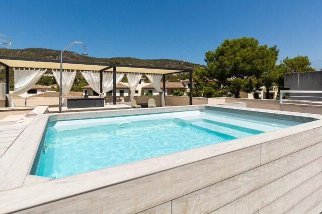 San Agustin with private pool and roof terrace